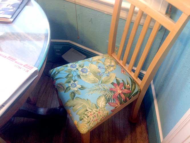 Dinette seats