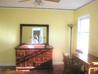 Bedroom facing South